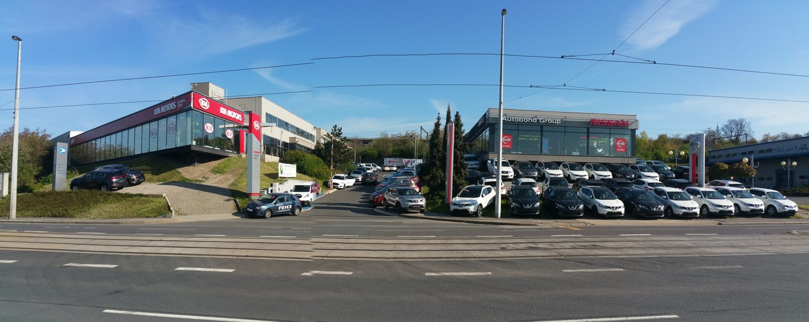 Centrála AUTOBOND GROUP a.s. v Praze – Vysočanech